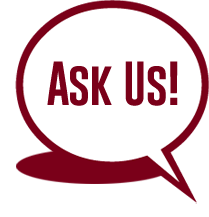 Ask Us at UMD Logo