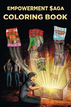 Empowerment Saga Coloring Book (cover)