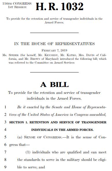 HR1032 Bill