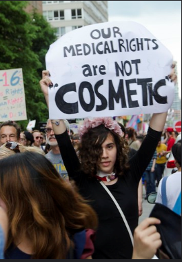 our medical rights are not cosmetic