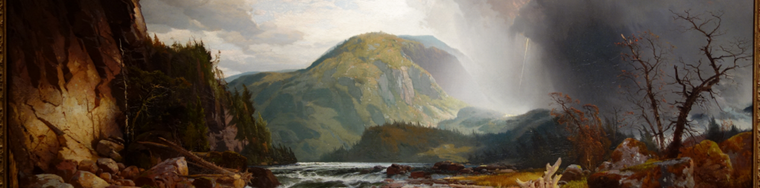 The Wilds of Lake Superior - Thomas Moran, 1864