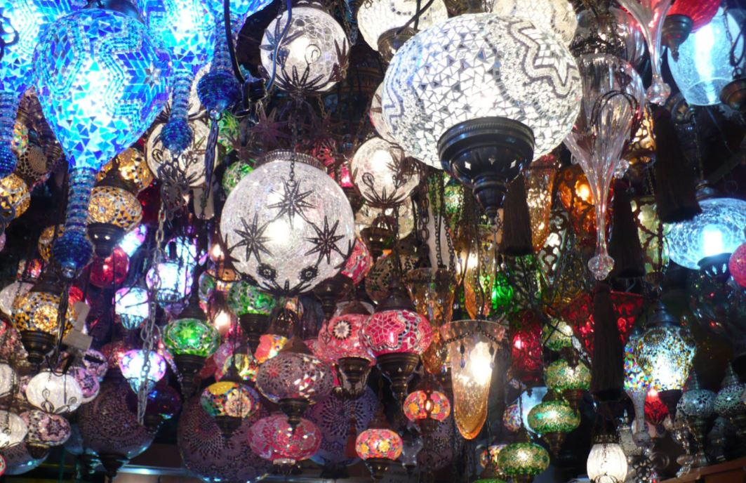 Glass Lamps of Istanbul
