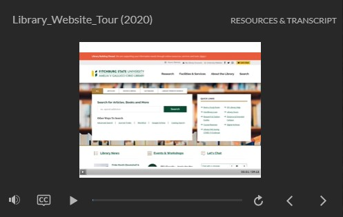 thumbnail image for library website tour