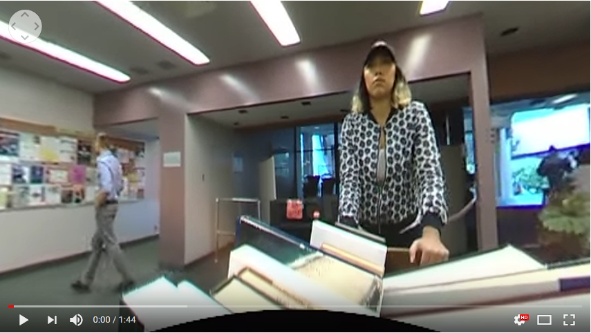 360-degree Tour of the Humboldt State University Library - Gabriela Lara