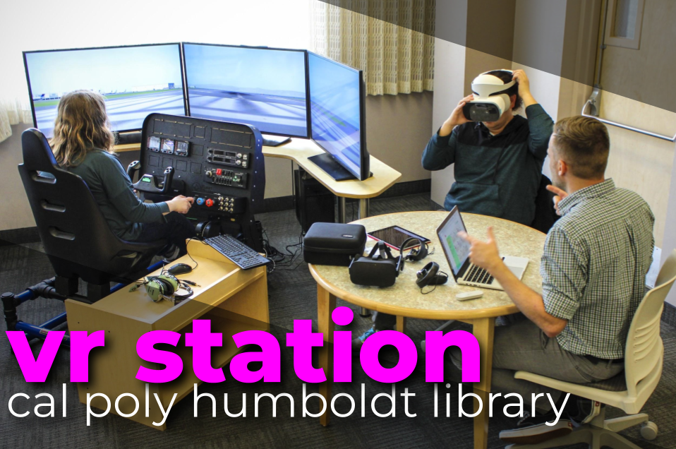 the VR Station - HSU Library