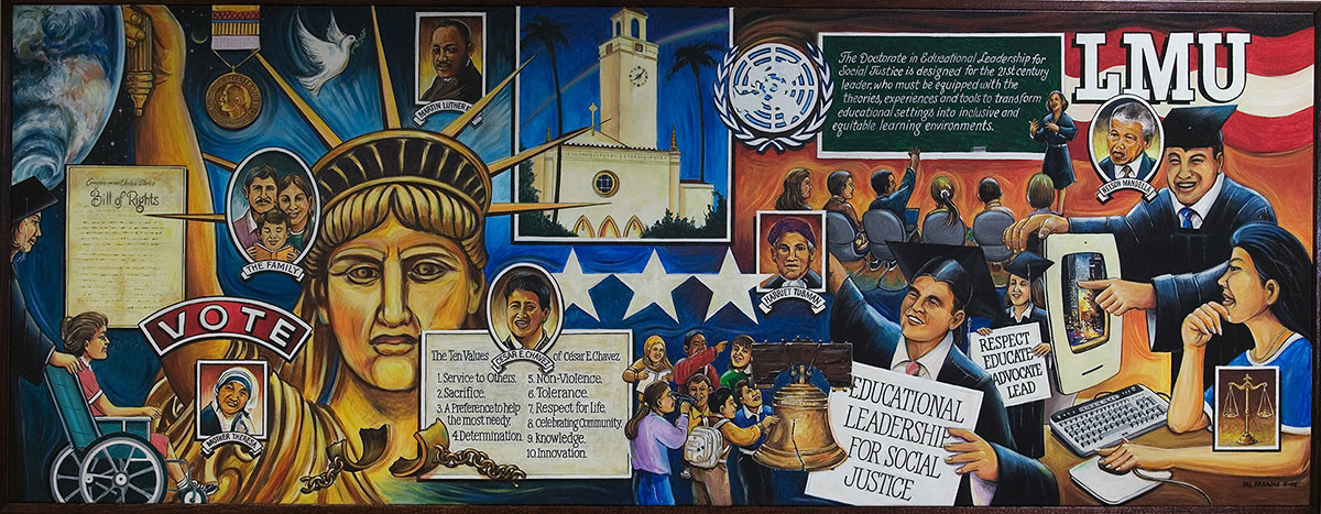 Doctoral Center Mural