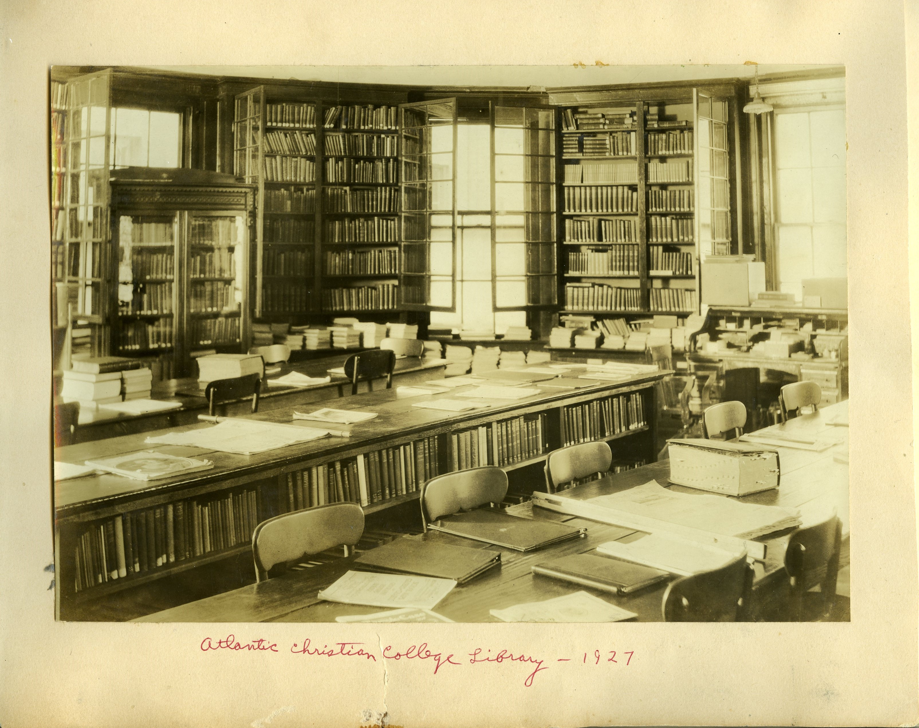 Atlantic Christian College Library 1927