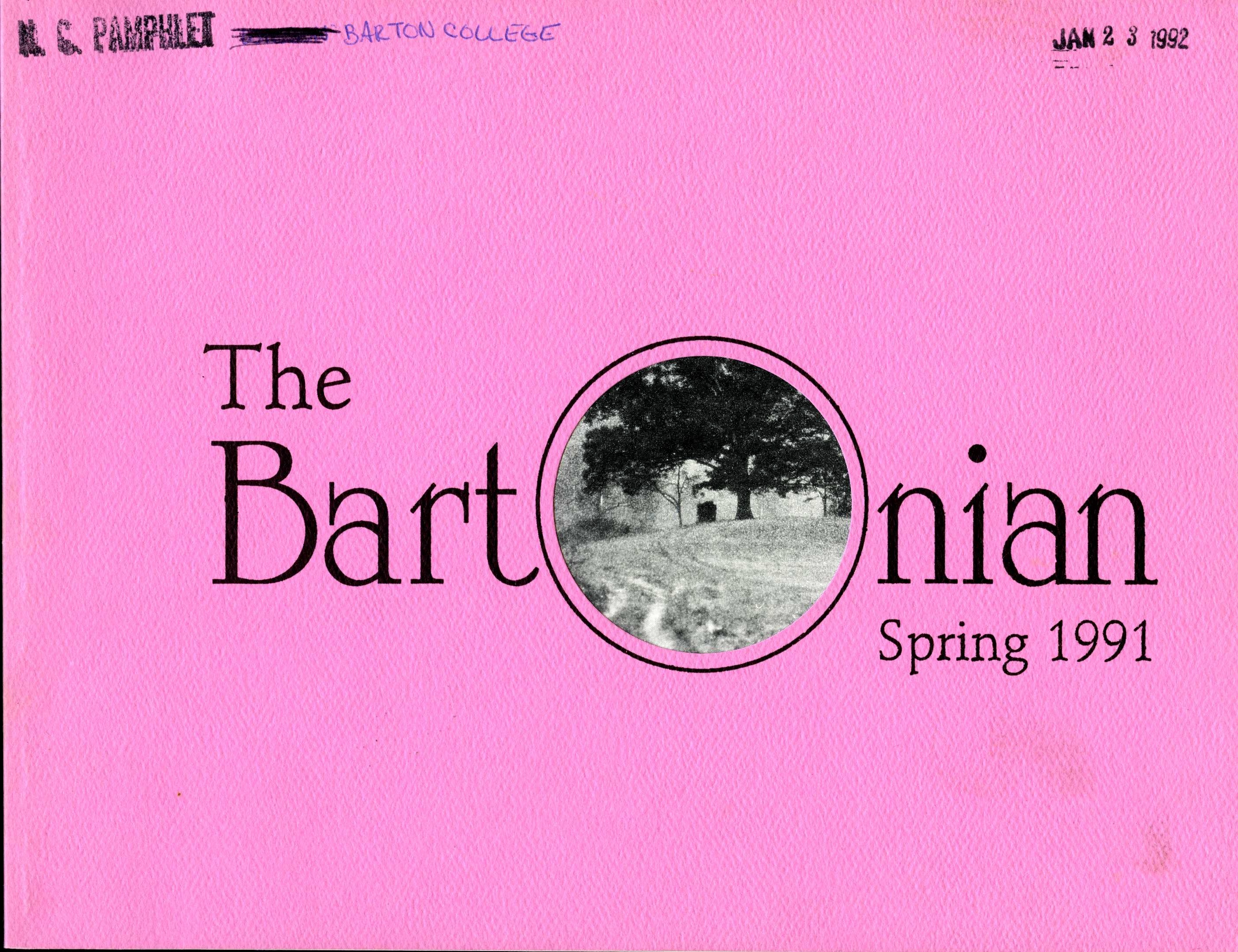 """The Bartonian"" (cover only)"