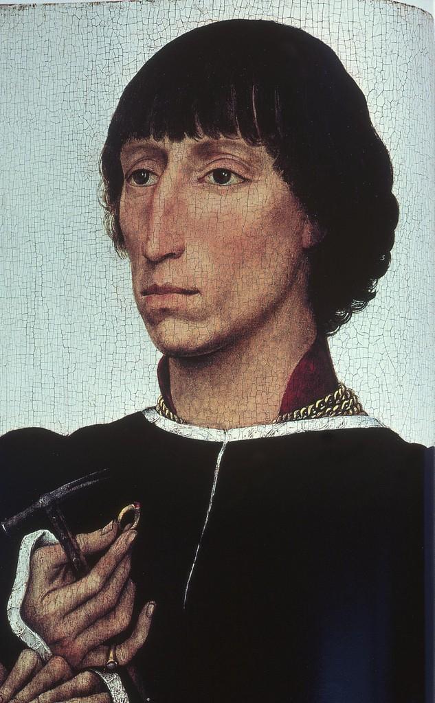 Portrait of Francesco d'Este by Rogier van der Weyden (c. 1460)