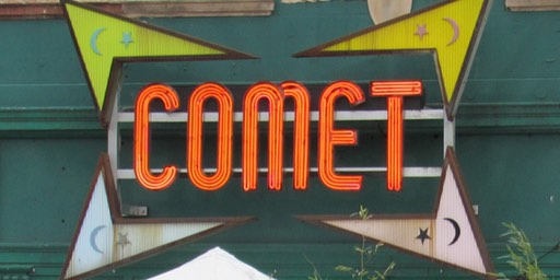 Comet Ping Pong Sign