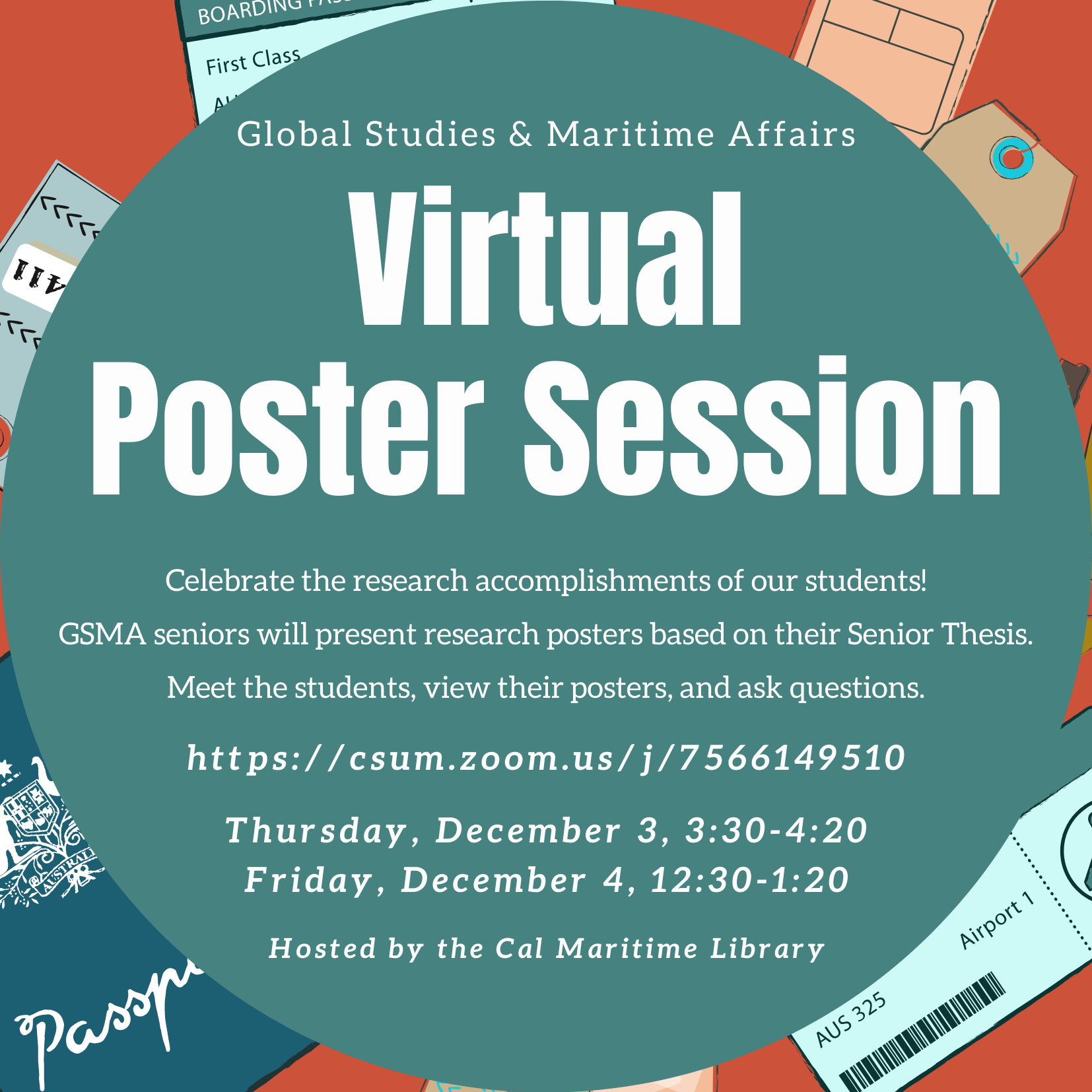 poster session announcement