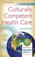 Guide to Culturally Competent Health Care book cover