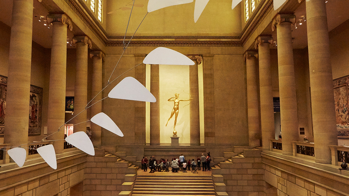 Phila Museum of art stairs