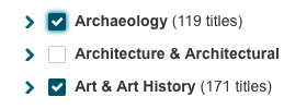 Archaeology or Art & Art History