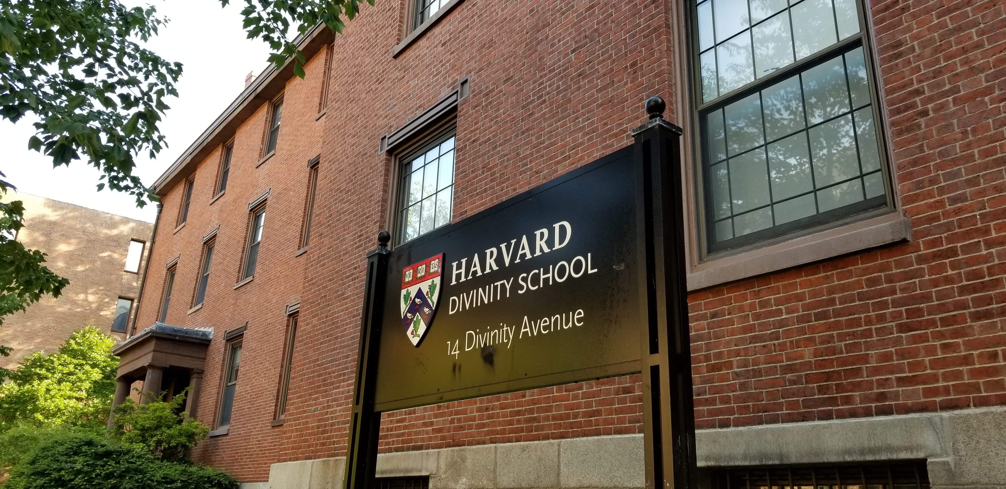 Photo of Divinity Hall at Harvard Divinity School