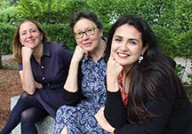 Photo of Gloria, Renata, and Rebecca