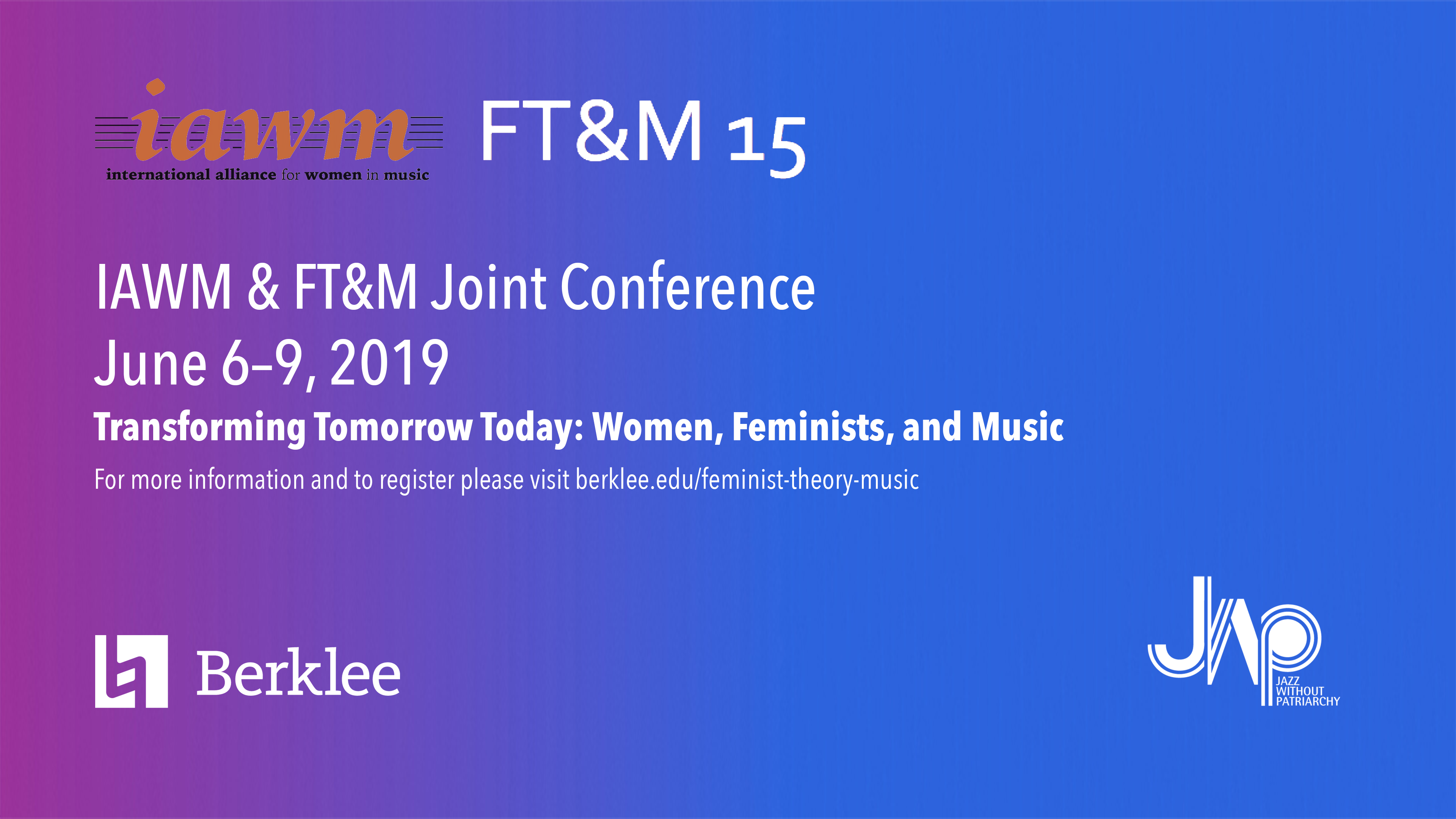 Feminist Theory Music Conference