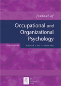 Journal of Occupational & Organizational Psychology