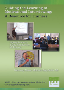 Guiding the learning of motivational interviewing: a resource for trainers
