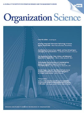 Organization Science