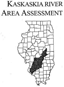 Kaskaskia River Area Assessment, cover