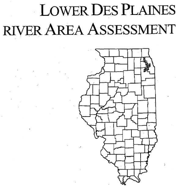 Lower Des Plaines River Area Assessment, cover