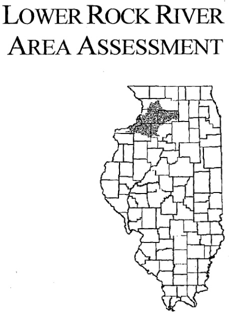 Lower Rock River Area Assessment, cover