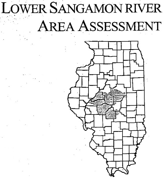 Lower Sangamon River Area Assessment, cover