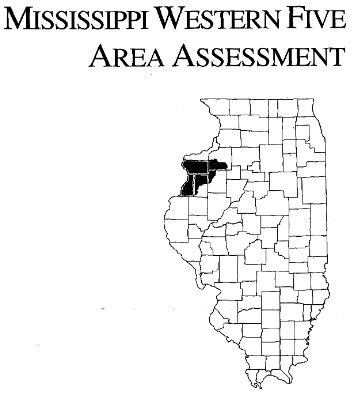 Mississippi Western Five Area Assessment, cover