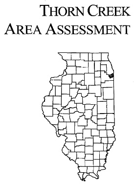 Thorn Creek Area Assessment, cover
