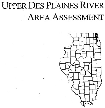 Upper Des Plaines River Area Assessment, cover