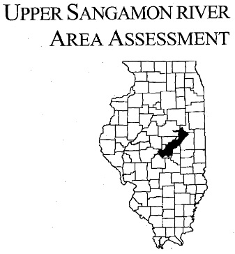 Upper Sangamon River Area Assessment, cover