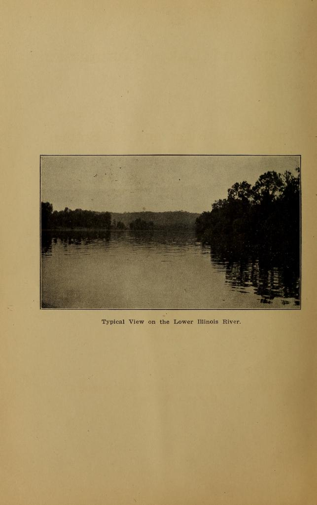 Frontispiece from Report of the Rivers and lakes commision on the Illinois river and its bottom lands, with reference to the conservation of agriculture and fisheries and the control of floods
