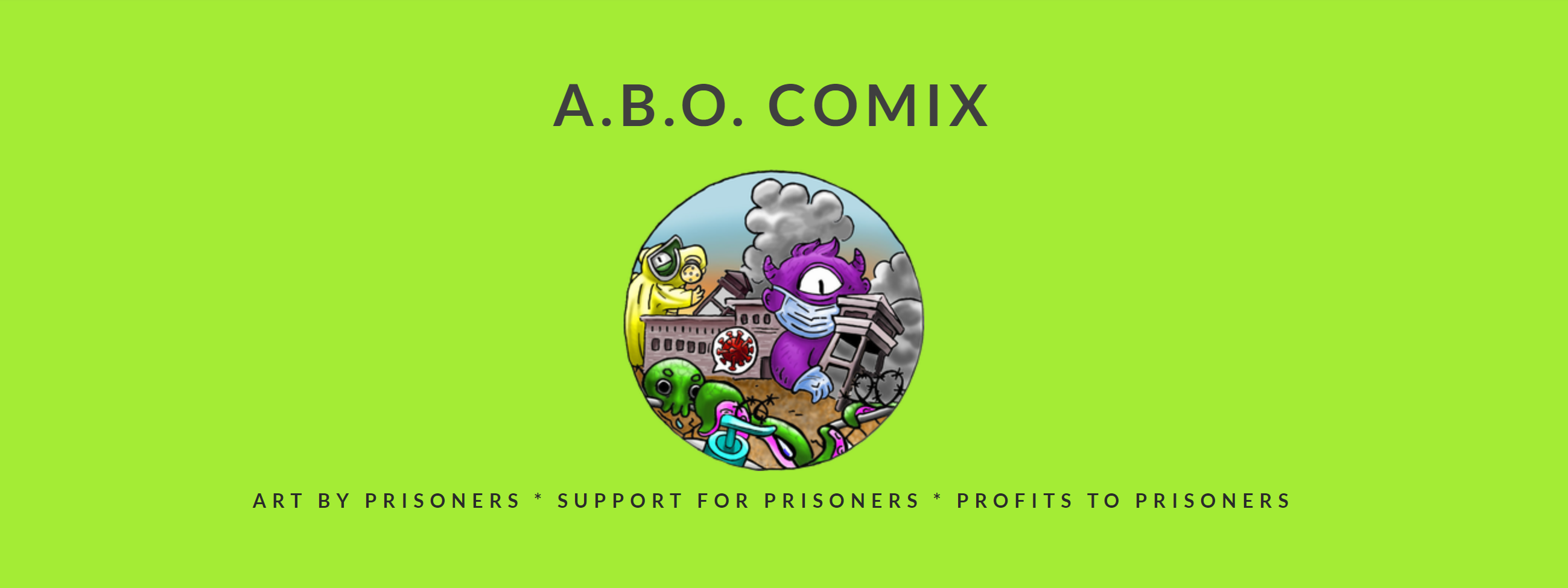 A.B.O Comix homepage graphic