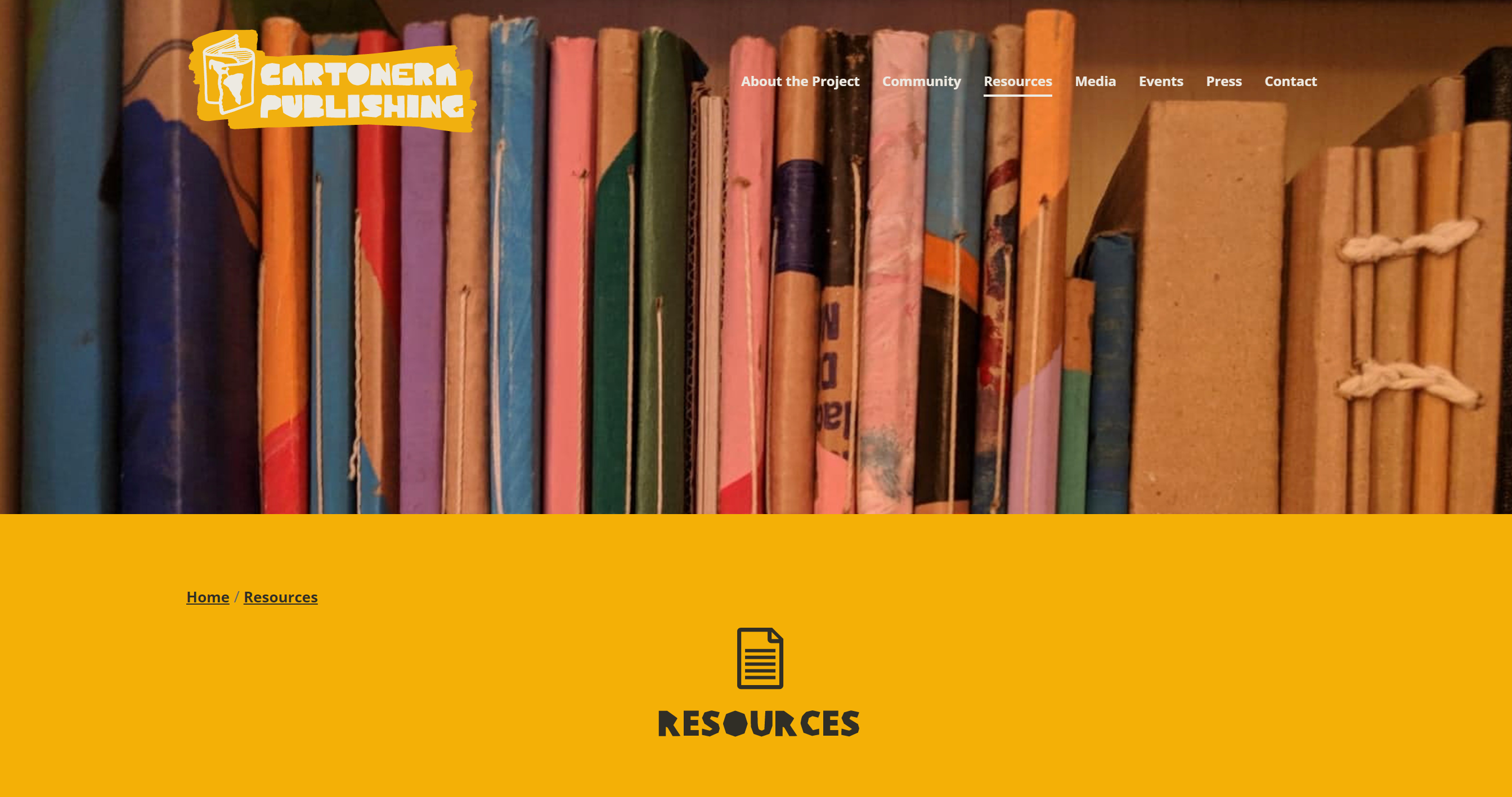 their resources webpage