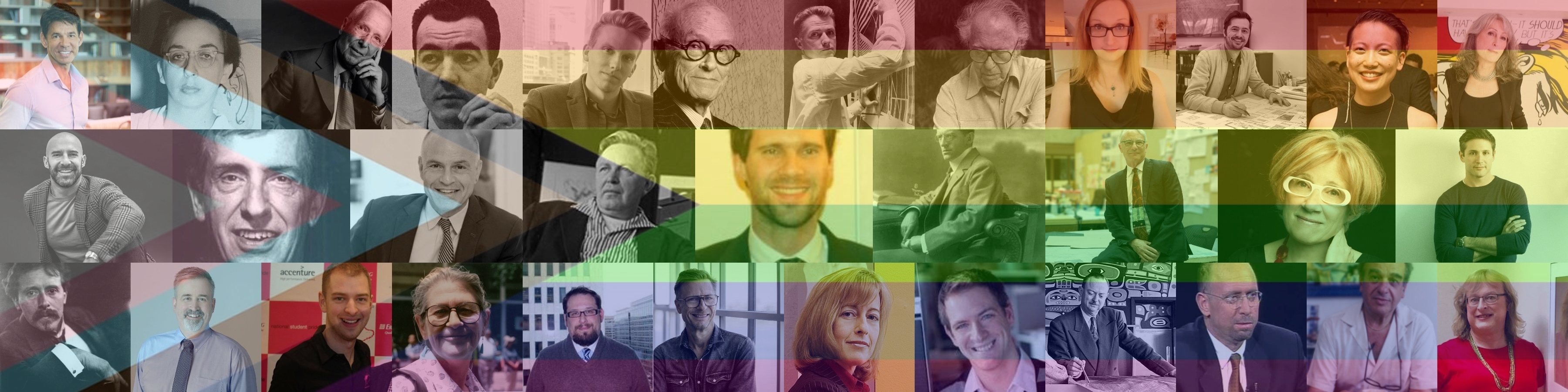 graphic for the #FromMarginToCenter: Queer Architect(ure)s Guide
