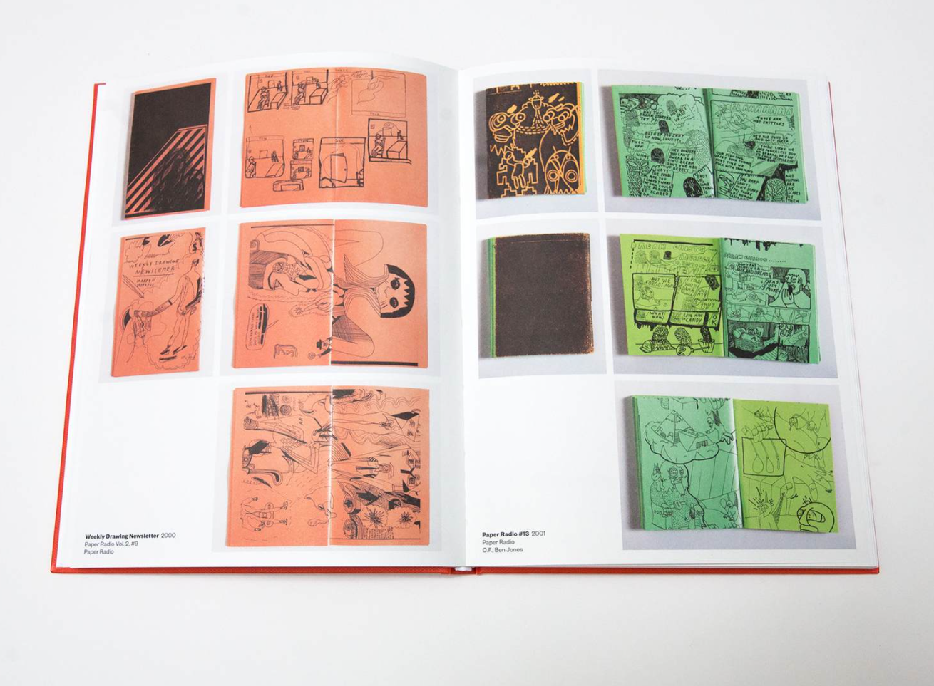 inside spread of the book