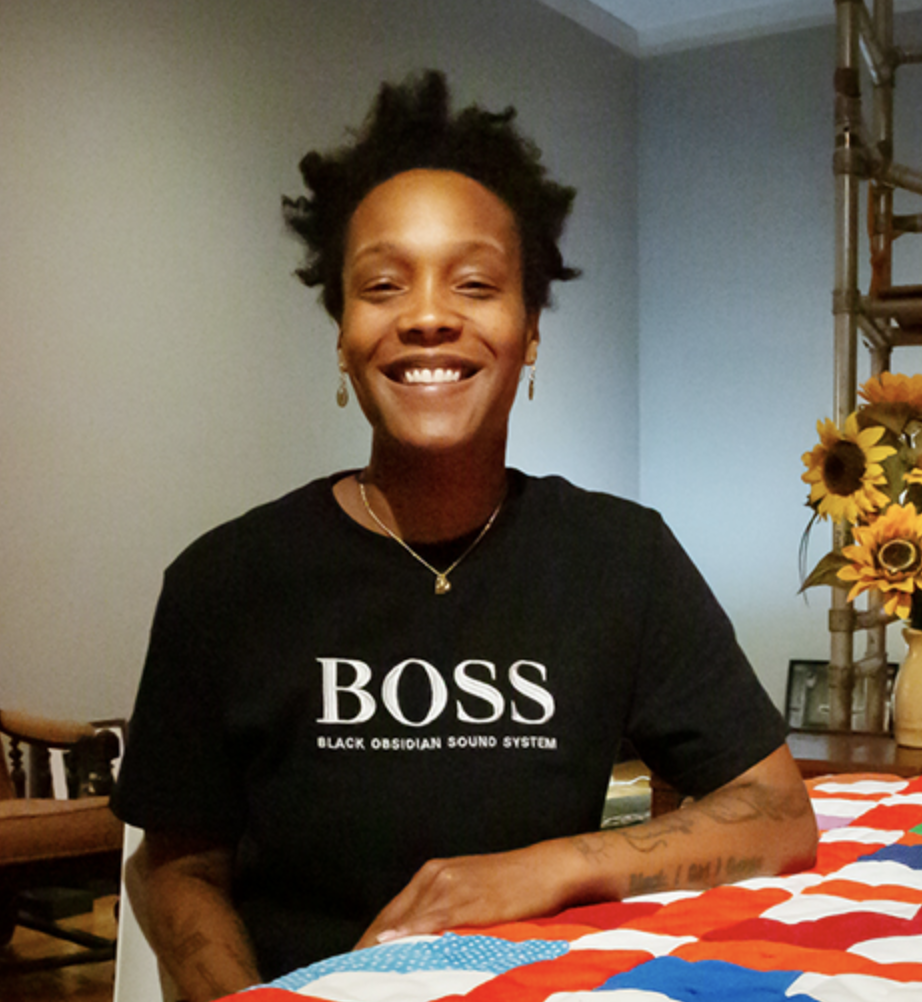 Picture of curator, Dr. Blair Ebony Smith