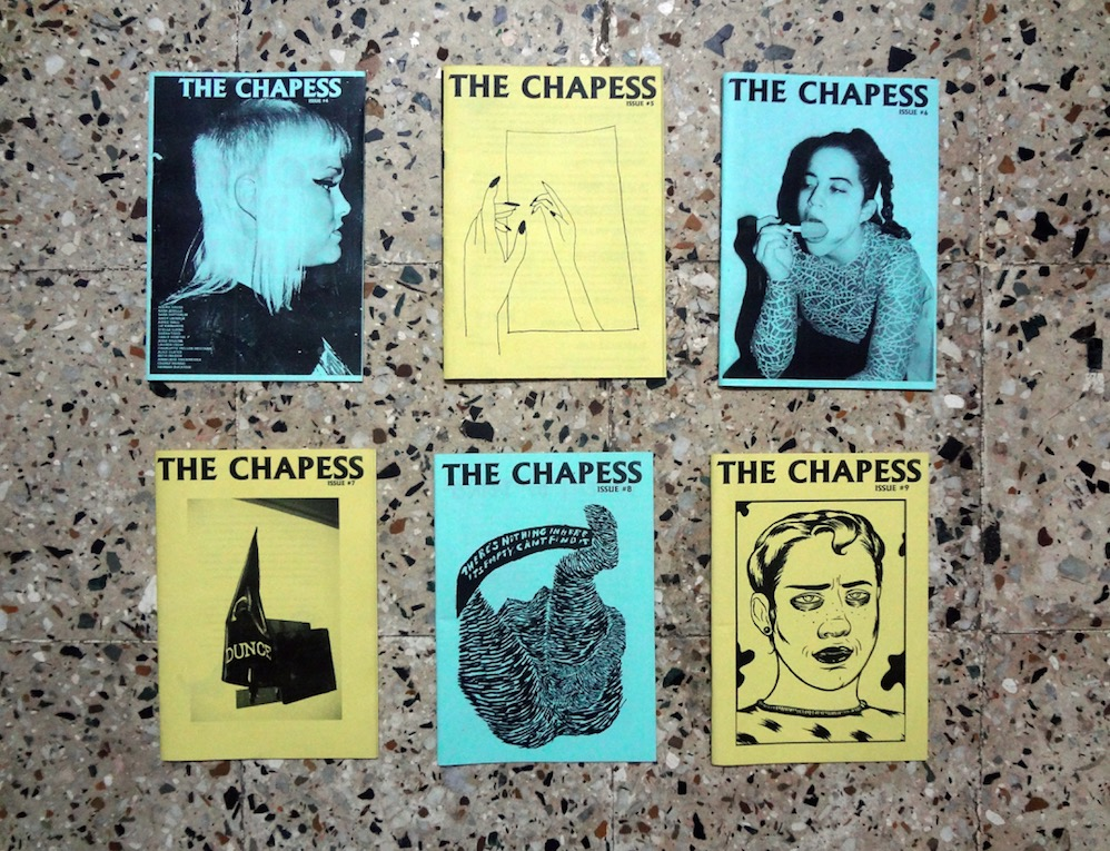 front covers of The Chapess issues by Bombay Underground