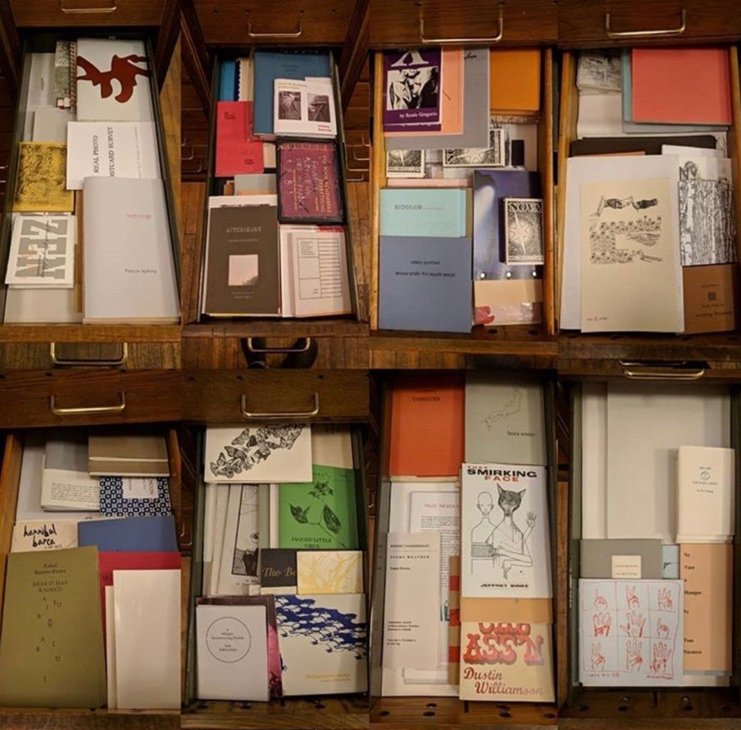 an overhead shot of booklets and pamphlets