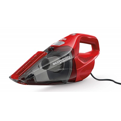Bagless handheld vacuum with cord
