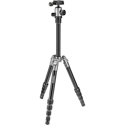 Tripod with adjustable legs and neck
