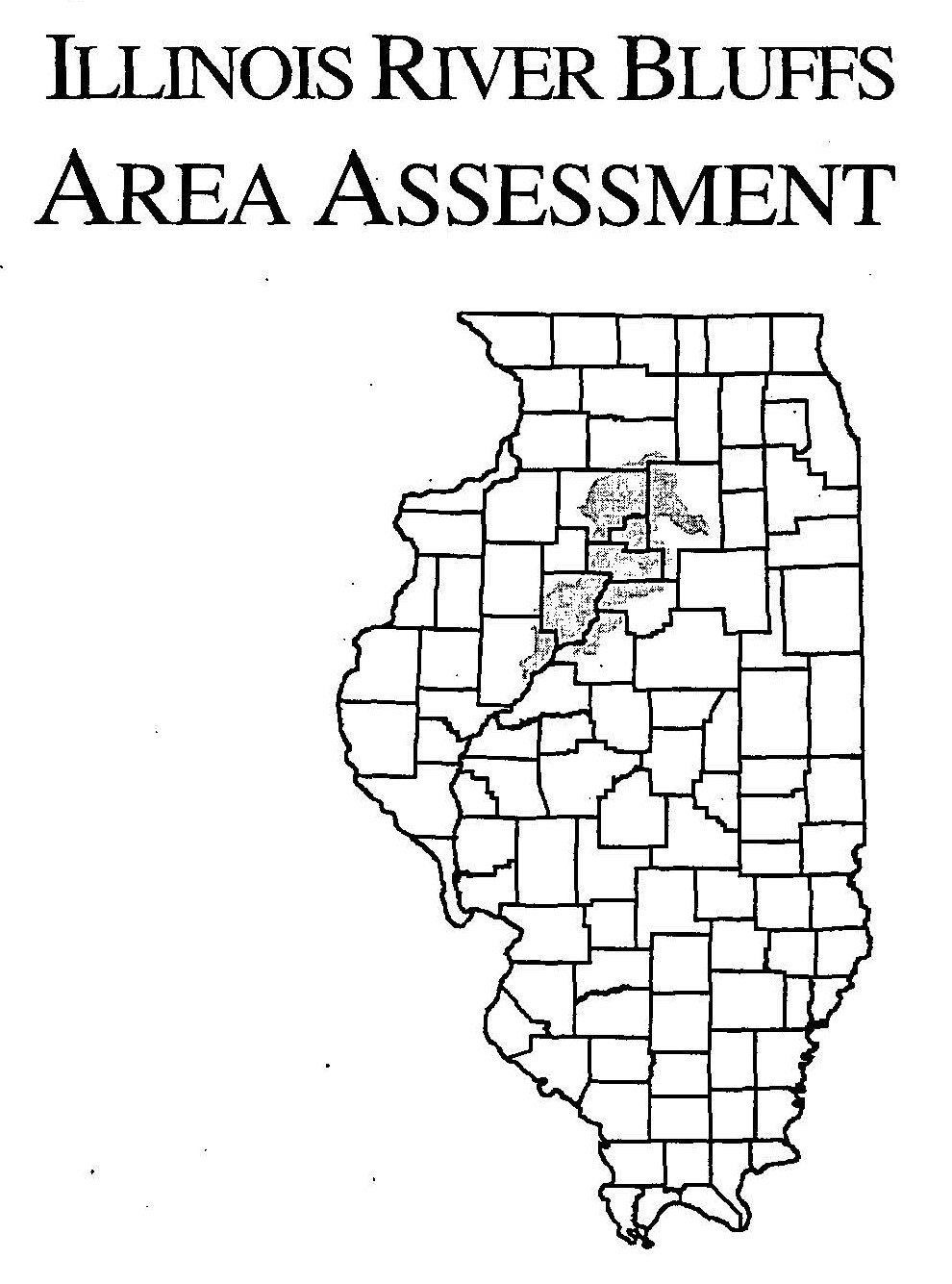 Illinois River Bluffs Area Assessment, 2001 cover