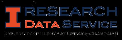 Research Data Service, University of Illinois at Urbana-Champaign (wordmark)