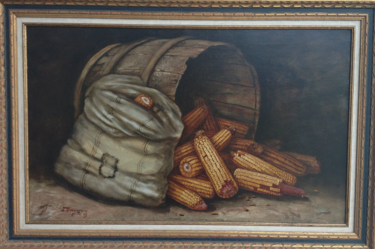 Corn Painting by Montgomery