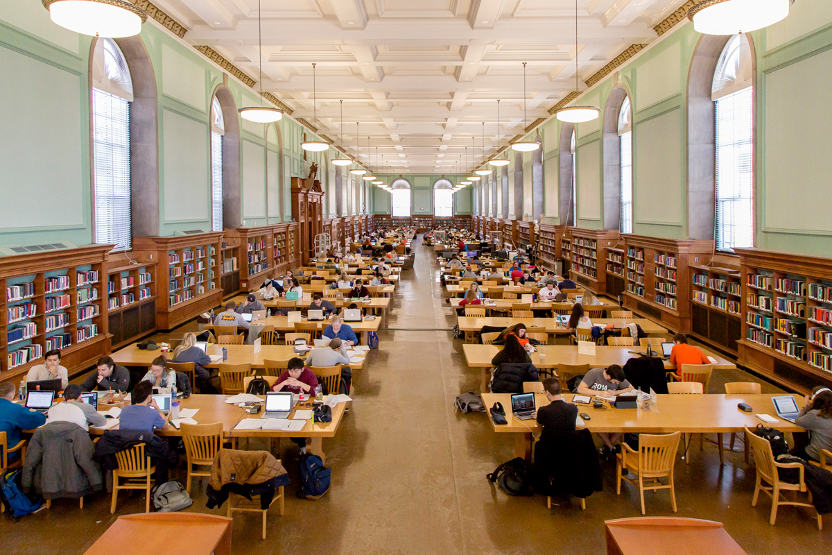 Main Library Reading Room