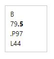 LC Call Number Second Row with Decimal Point