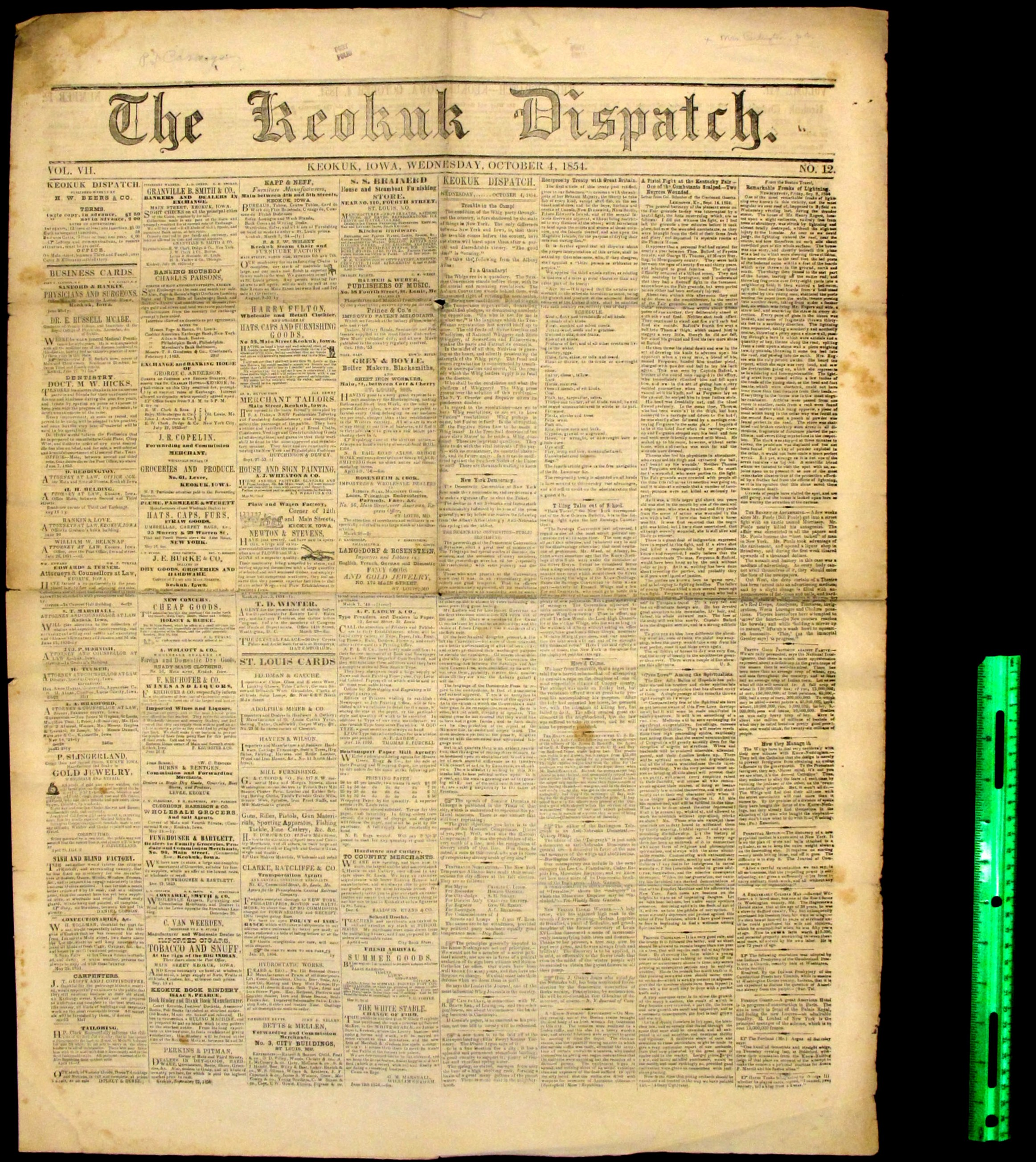 The Keokuk Dispatch (Keokuk, Iowa)