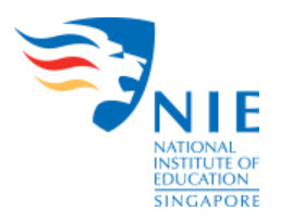 National Institute of Education logo