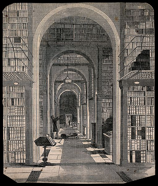 Public Domain image - incunable room of the British Library